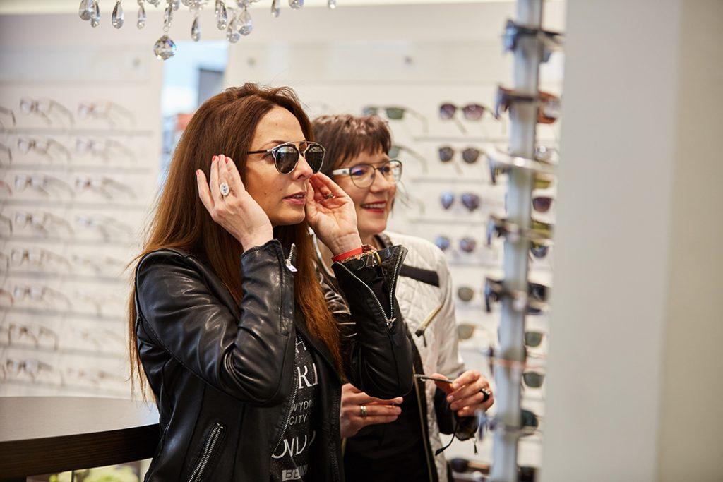Beratung Sonnenbrillenkauf